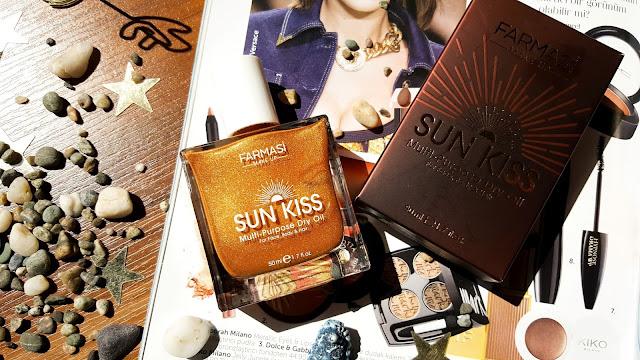 Farmasi Sun Kiss Bronzlaştırıcı Işıltılı Kuru Yağ