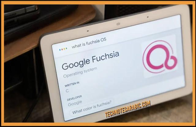 Google Fuchsia OS on Google Nest Hub