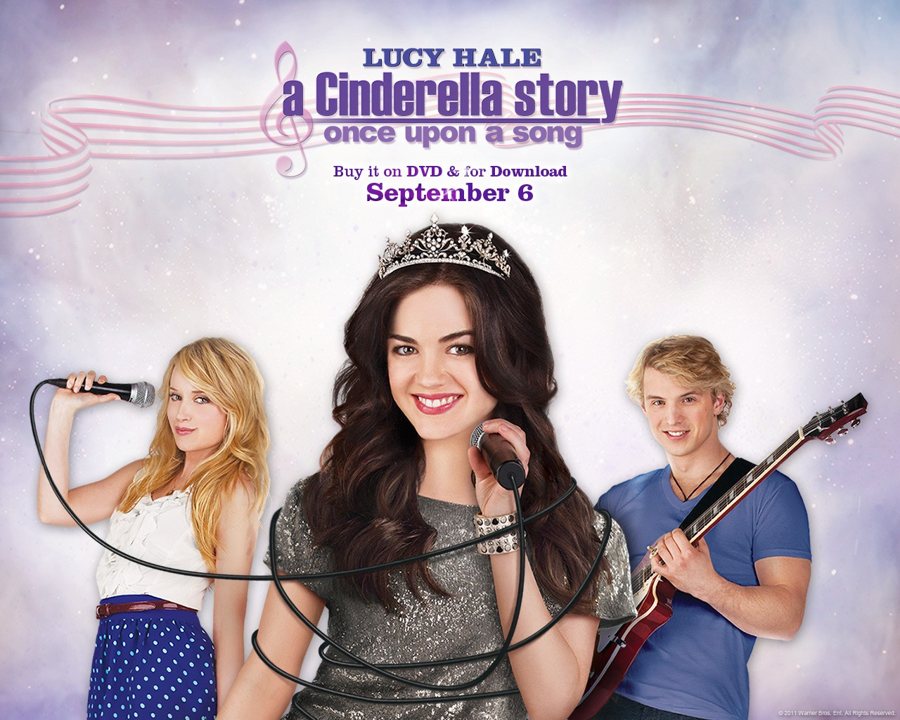Movies. : a cinderella story once upon a song movie.