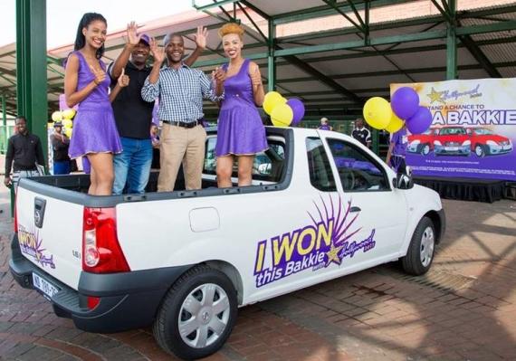 Nthangeni Mudanalwo - 3rd Bakkie Winner - Nissan NP200 - Hollywoodbets - Win A Bakkie - Jerry Sikhosana
