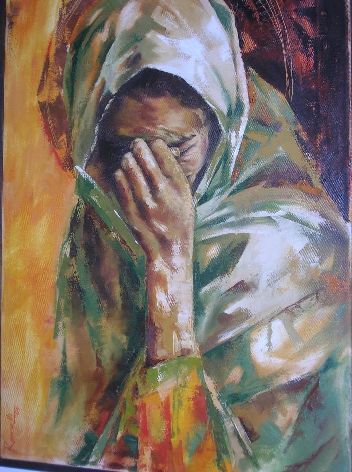 Итальянский художник. Laura Roncalli