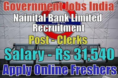 Nainital Bank Limited Recruitment 2019