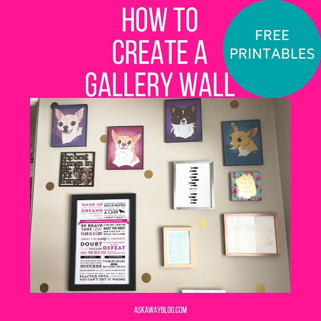 How to Create a Gallery Wall with FREE PRINTABLES