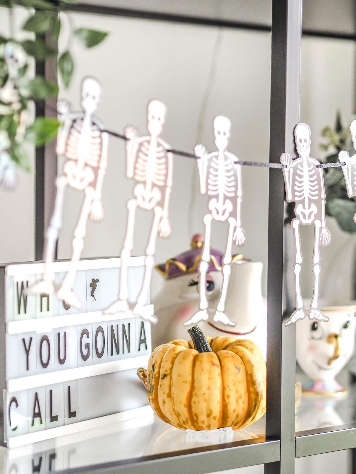 Hello Halloween. Inside our house this season.