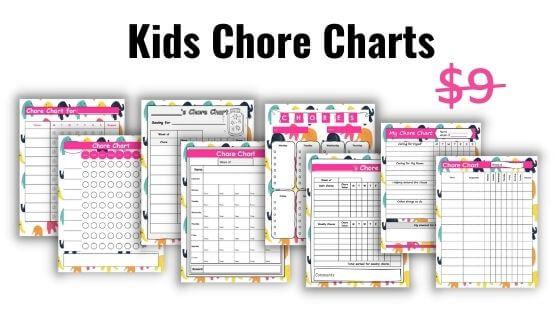 Kids Chore Charts Printables