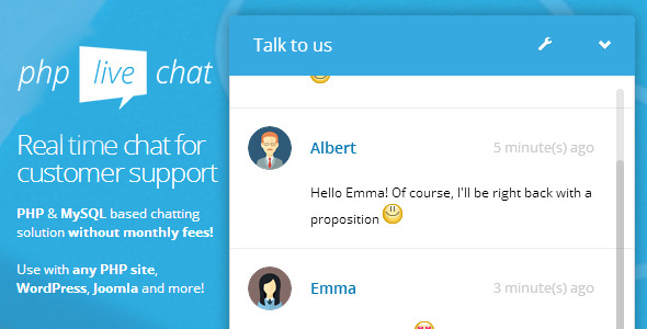 Free Download PHP Live Support Chat