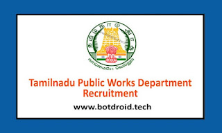 TN PWD Recruitment 2020 Notification Out, Apply online for 280 Apprentice Posts