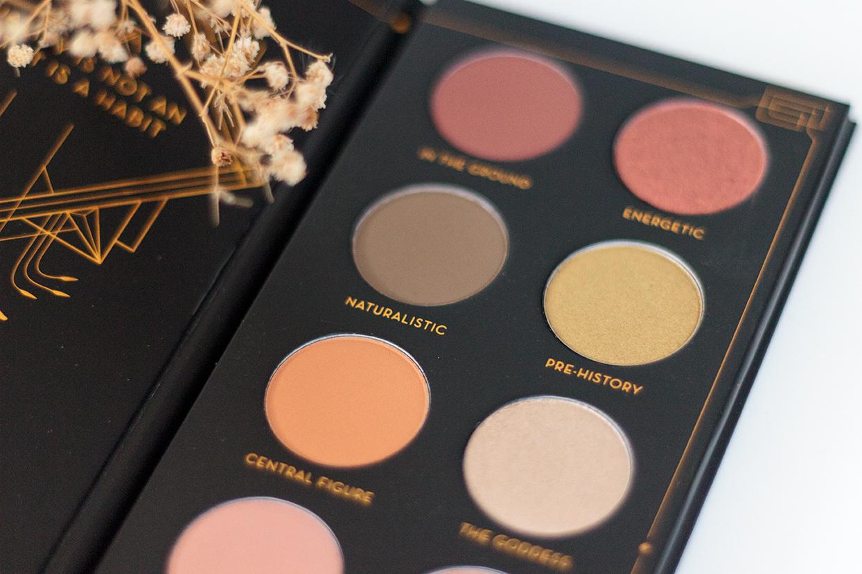 Zoeva Aristo eye shadow palette review