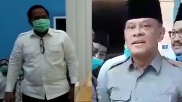 Wadirintel Polda Jatim Minta Jenderal Gatot Turun dari Atas Panggung Saat Acara KAMI