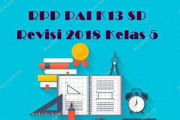 RPP PAI K13 SD Revisi 2018 Kelas 5