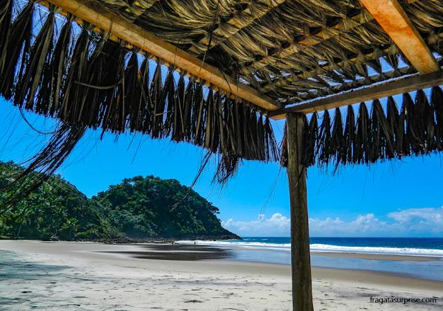 Estrutura de praia do Itacaré Eco Residence, Praia de São José, Itacaré, Bahia