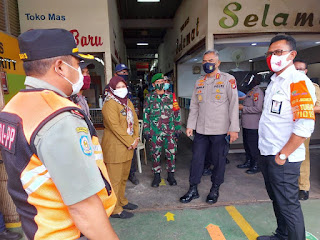Dirbinmas Polda Metro Jaya Pantau Giat Kampling Kelurahan Pondok Labu