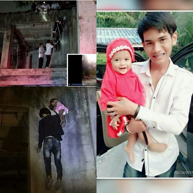 Man hangs himself and his 11 months old daughter, on Facebook Live after suspecting his partner of cheating