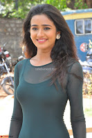 Simran Choudhary Cute beauty with dimples in transparent Green Tight Short Dress ~  Exclusive 020.jpg