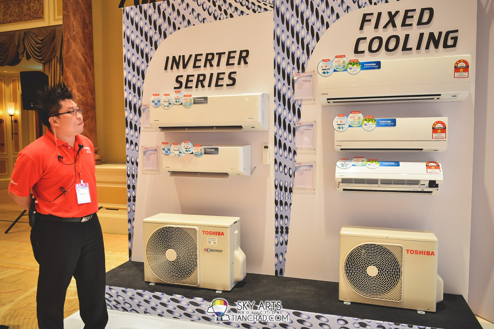 Toshiba is back with new Premium Eco touch Inverter Air-Conditioner