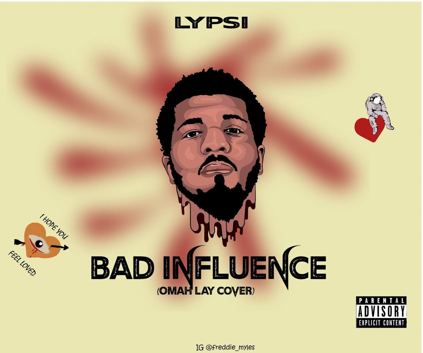Lypsi – Bad Influence (Omah Lay Cover) #Arewapublisize