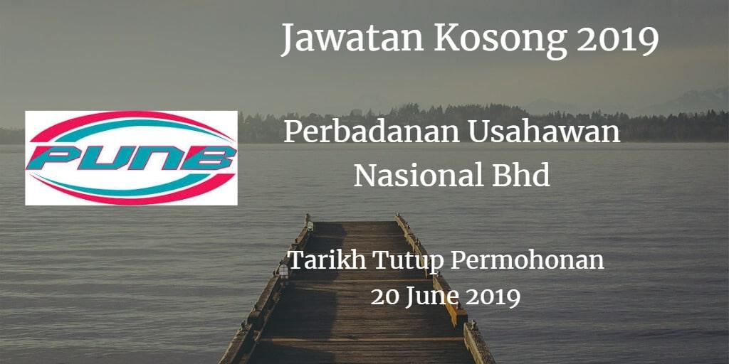 Jawatan Kosong PUNB 20 June 2019
