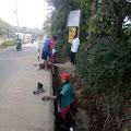 Pipa Milik PDAM Kota Salatiga  Pecah - Diduga Akibat Kecerobohan Pelaksana Proyek Saluran Air di Wilayah Klampeyan, Adjie: Mohon Maaf Atas Terganggunya Pelayanan Kami