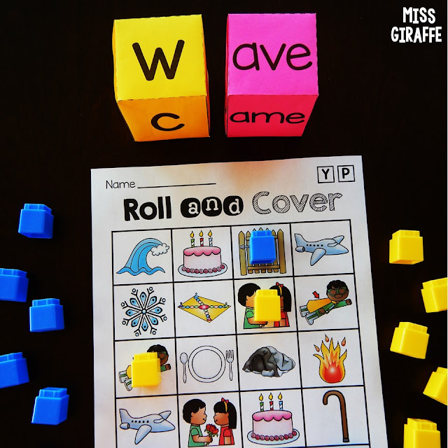 Long a activities for reading vowel word families in a super fun and engaging way! Check these out!