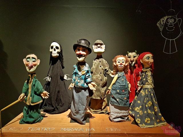 exposição Giramundo na Caixa Cultural