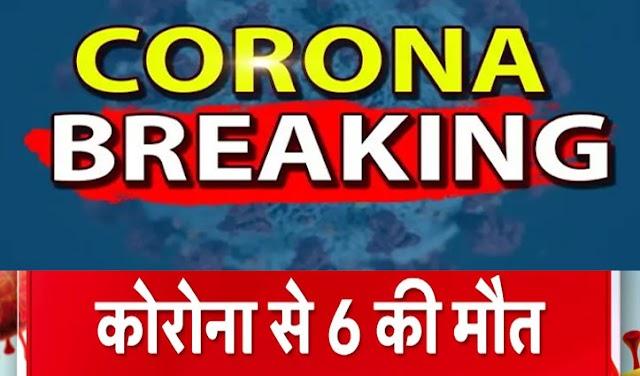 हिमाचल: आज कोरोना ने छीनी 6 जिंदगियां, डेथ रेट 1.4 से बढ़कर 1.6 फीसदी पहुंचा