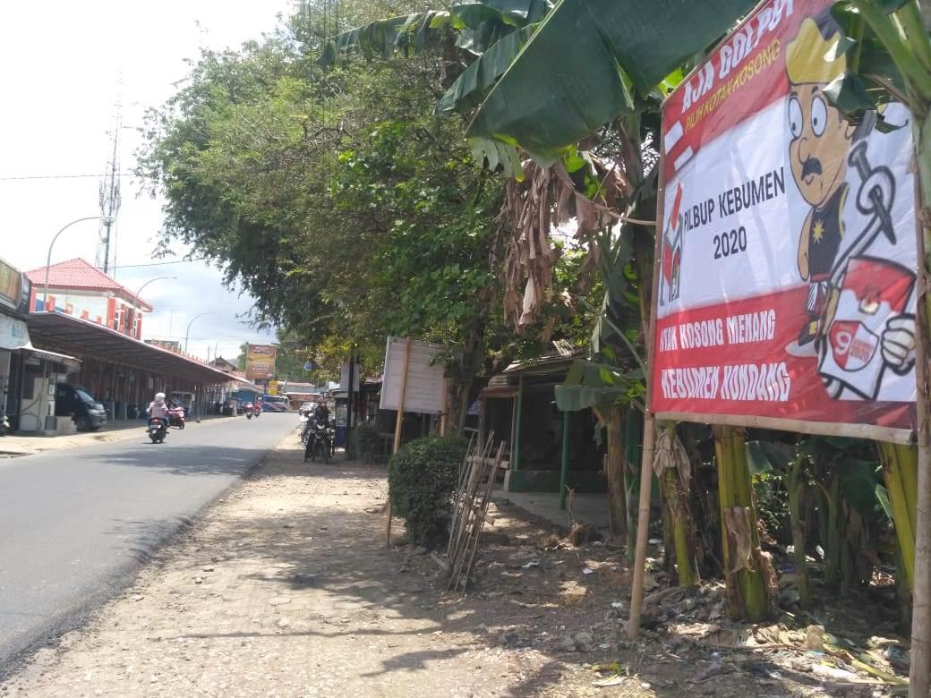 Baru Empat Hari Dipasang, Baliho Koko Ada yang Mencopot