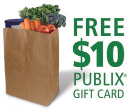 gift cards available publix orlando daily deals free 10 publix gift card when you 10863