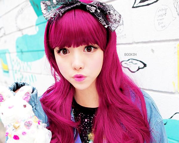 inspiração de cabelos coloridos