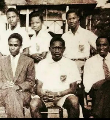 Throwback Pic Of Obasanjo & MKO Abiola In Secondary School