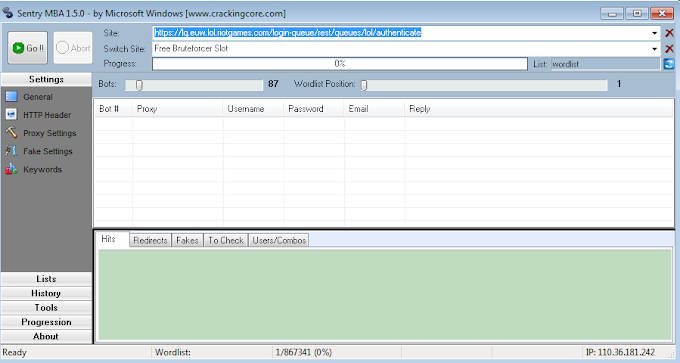 Sentry MBA 1.5.0 Download - Latest Accounts Cracking Tool