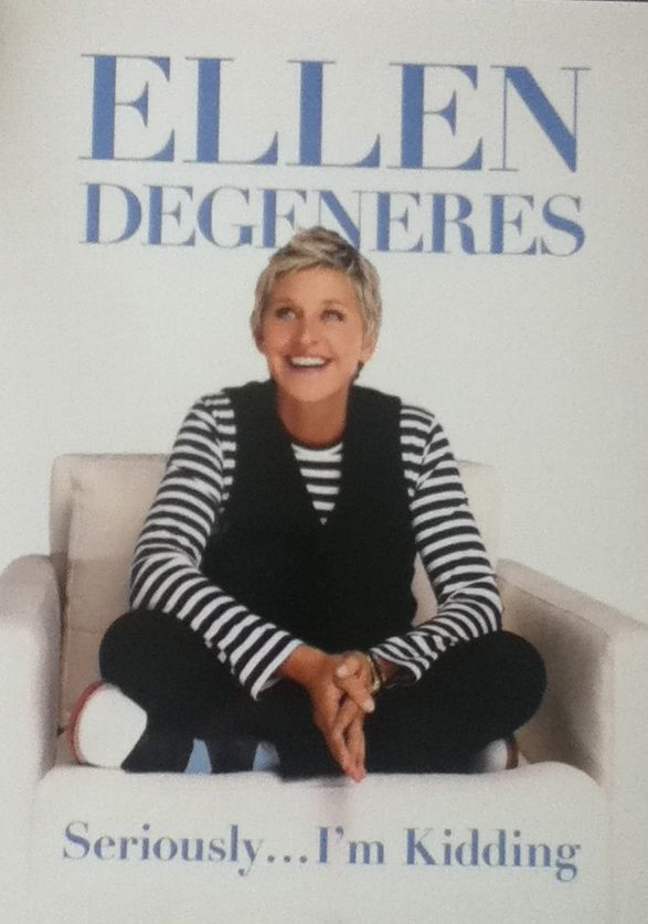 Bookshelf: Seriously... I'm Kidding (Ellen DeGeneres)