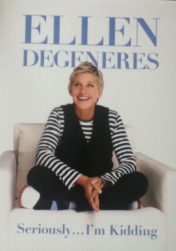 Bookshelf: Seriously... I'm Kidding (Ellen DeGeneres)
