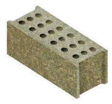 Gạch block dăm gỗ ép.
