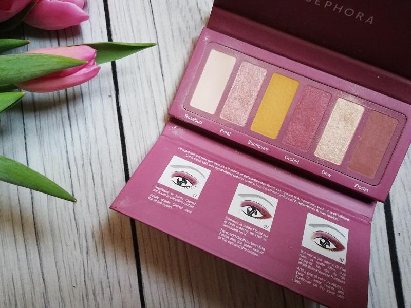 Sephora Eyestories Palette Fresh florals