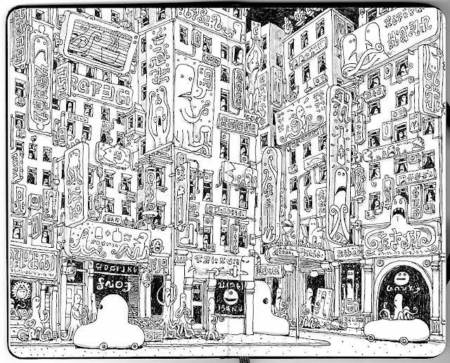 Mattias Adolfsson, an urban scene