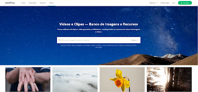 pixabay banco de videos profissional blog design total
