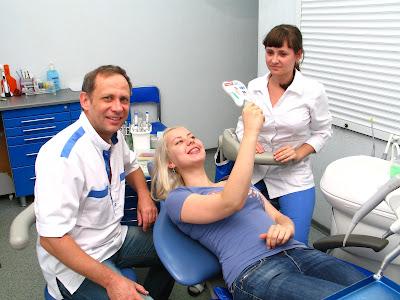 Ортодонт и пациент