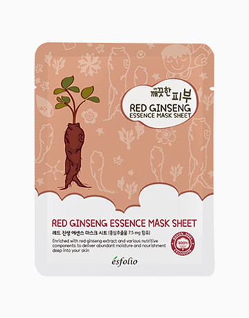 is esfolio red ginseng face mask effective