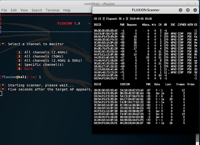 Fluxion scanner
