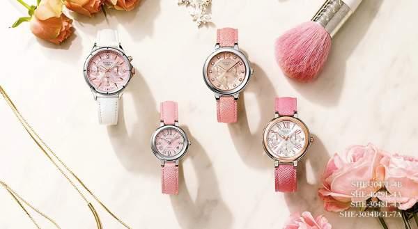 Jam tangan Casio Sheen untuk wanita