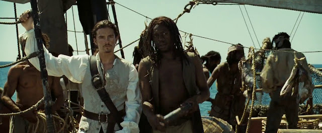 Screen Shot Of HOllywood Movie By Pirates of The Caribbean Dead Man's Chest 2006  Download And Watch Online Free at Movies365.in