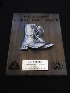 Jim Karels' Lead by Example Award
