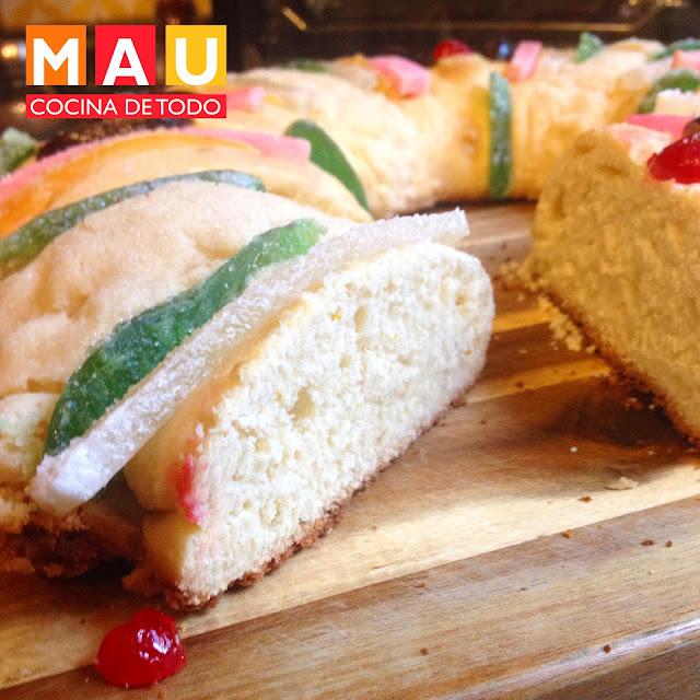 rosca de reyes tradicional facil casera dia pan esponjado receta