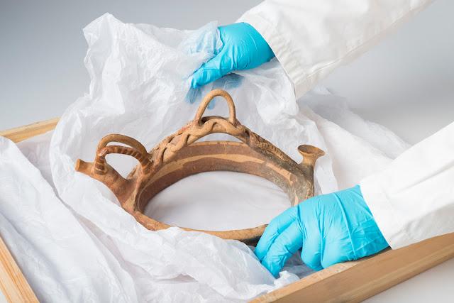 Cyprus antiquity repatriated from United Kingdom