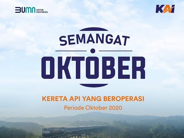 Jadwal Kereta Api dari Jakarta ke Bandung dan Kota-Kota Lainnya di Jawa Bulan Oktober 2020
