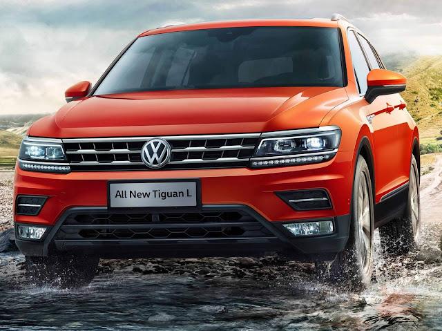VW Tiguan Allspace: fotos oficiais e informações