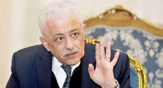 وزير التعليم طارق شوقي.. جهات سيادية هى التى تؤمن امتحانات الثانوية العامة النهائية