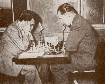 Partida de ajedrez Gudmundur Palmasson (Islandia) - Nicolay Minev (Bulgaria)
