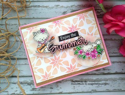 Enjoy the summer by Mugdha features Aloha Newton by Newton's Nook Designs; #newtonsnook