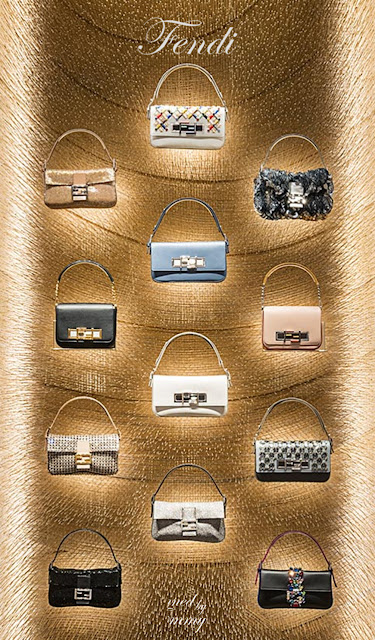 Brilliant Luxury ♦ Fendi Roma